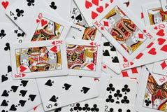 Carte da gioco Immagine Stock