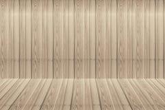 Carte da parati di legno di struttura del pavimento della parete della stanza immagine stock libera da diritti