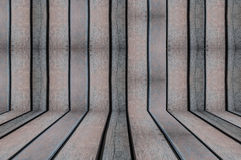 Carte da parati ed ambiti di provenienza di legno di struttura della stanza fotografie stock