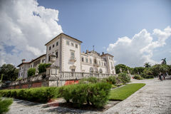 Carte da parati, natura, bellezza, bella costruzione della villa, monumento orhitertury Fotografie Stock