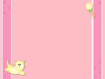 Carte de bébé Photo libre de droits