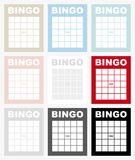Carte de bingo-test Image stock