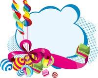 Carte de bonbons Image stock