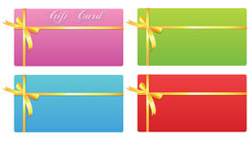 Carte de cadeau Photo libre de droits