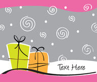 Carte de cadeaux Photo libre de droits