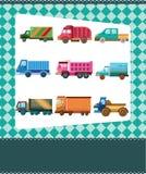 Carte de camion de dessin animé Photo libre de droits