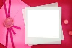 Carte de chéri Photographie stock libre de droits