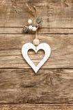 Carte de coeur d'amour de Saint-Valentin Photographie stock