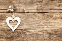 Carte de coeur d'amour de Saint-Valentin Images libres de droits