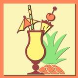 Carte de colada de Pina Image stock