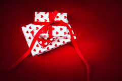 Carte de concept d'amour de jour du ` s de Valentine belle - GIF de jour de valentines Image libre de droits