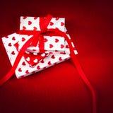 Carte de concept d'amour de jour du ` s de Valentine belle - GIF de jour de valentines Photographie stock