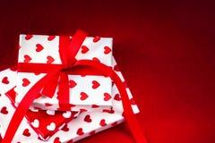 Carte de concept d'amour de jour du ` s de Valentine belle - GIF de jour de valentines Photo libre de droits