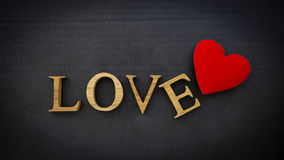 Carte de concept de Valentine Image stock