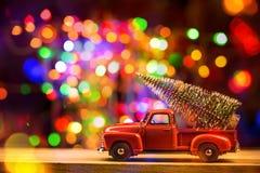 Carte de concept de vacances de Noël image libre de droits