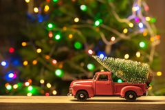Carte de concept de vacances de Noël image stock