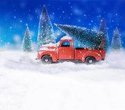 Carte de concept de vacances de Noël images libres de droits