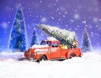 Carte de concept de vacances de Noël images stock