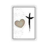Carte de condoléance Image stock