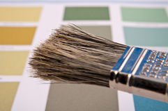 Carte de couleur Images libres de droits