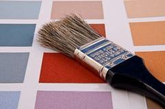 Carte de couleur Photographie stock libre de droits