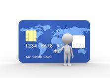 Carte de crédit Photographie stock