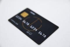 Carte de crédit, carte de débit, carte de paiement Photo stock