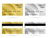Carte de crédit moderne, carte des affaires VIP, carte de membre images libres de droits