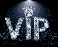Carte de diamant de VIP Image stock