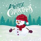 Carte de greetng de Chrismas Photo stock