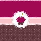Carte de gâteau Photo libre de droits