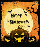 Carte de Halloween Photo stock