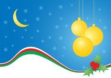 Carte de joie de Noël Images stock