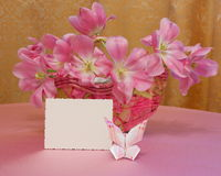 Carte de jour de mères ou image de Pâques - photo courante Image libre de droits