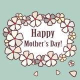 Carte de jour de Mother?s Photographie stock libre de droits