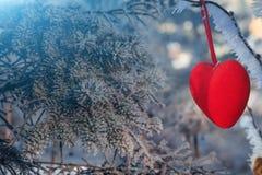 Carte de jour de Valentine Images libres de droits