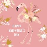 Carte de jour de Valentine Photos stock