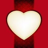 Carte de jour de Valentine. ENV 8 Photo libre de droits