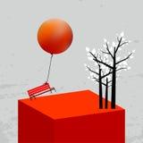 Carte de jour de valentines Image stock