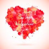 Carte de jour de Valentines Photo libre de droits