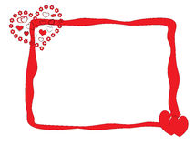 Carte de jour de Valentines illustration stock