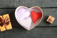 Carte de jour de valentines ou idée d'amour Photo libre de droits