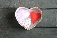 Carte de jour de valentines ou idée d'amour Images libres de droits