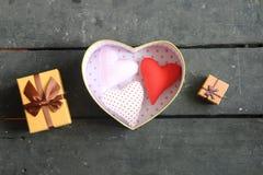Carte de jour de valentines ou idée d'amour Photographie stock