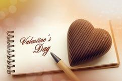 Carte de jour du ` s de St Valentine Photographie stock libre de droits