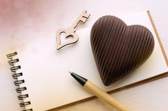 Carte de jour du ` s de St Valentine Photos stock