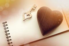 Carte de jour du ` s de St Valentine Photo libre de droits