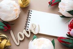 Carte de jour de valentines de St Images stock