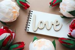 Carte de jour de valentines de St Photographie stock
