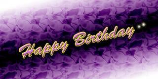 Carte de joyeux anniversaire Image stock